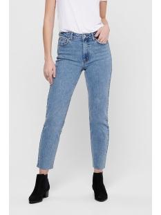 Only Jeans ONLEMILY HW ST RAW CROP ANK MAE06 N 15171550 Light Blue Denim