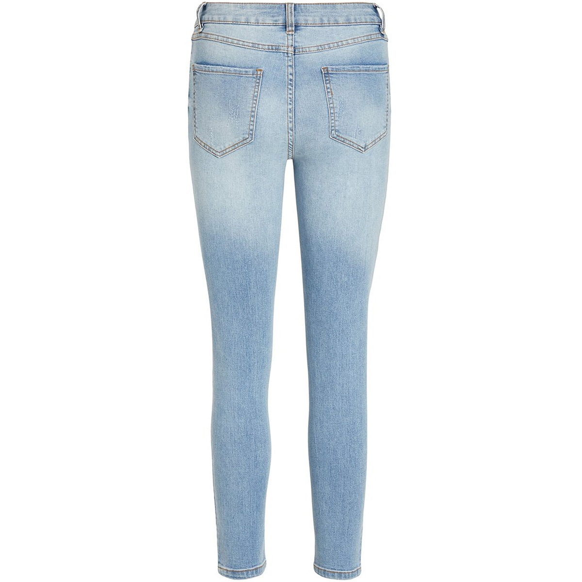 viekko rwsk 7/8 jeans/su - noos 14055696 vila jeans light blue/enzyme was