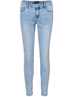 Vero Moda Jeans VMLYDIA LR SKINNY JEANS LI321 GA NO 10225481 Light Blue Denim