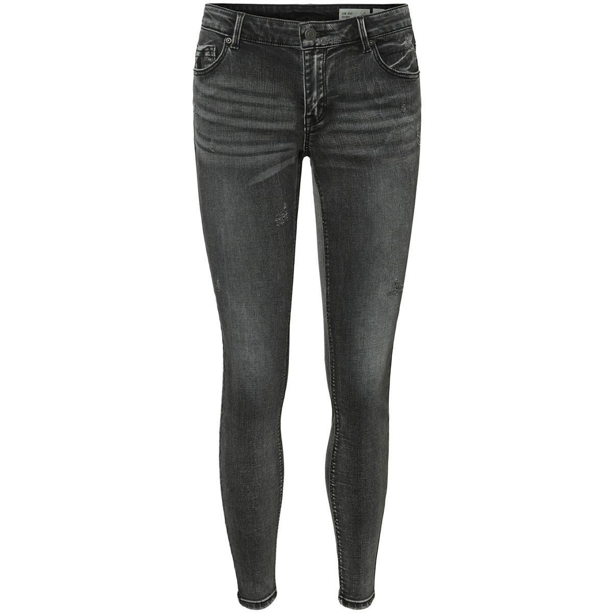 vmlydia lr skinny tap jeans li201 10223538 vero moda jeans medium grey denim