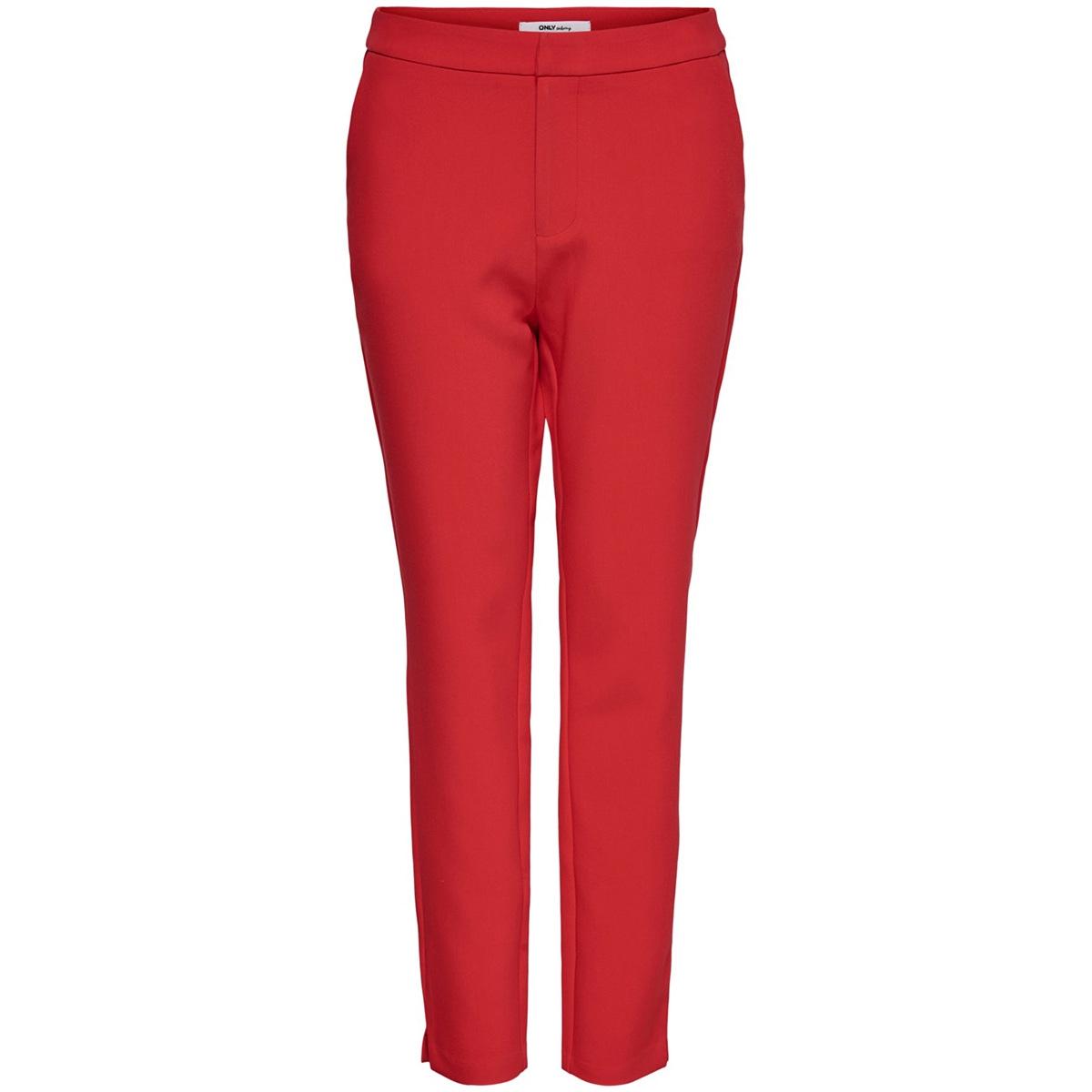 onleline-lely mw cigarette pant pnt 15195827 only broek high risk red