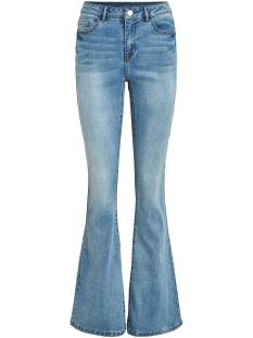 Vila Jeans VIEKKO RWSS FLARED JEANS/L/SU 14058358 Light Blue Denim