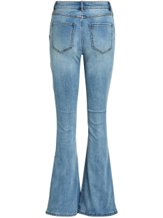 viekko rwss flared jeans/l/su 14058358 vila jeans light blue denim