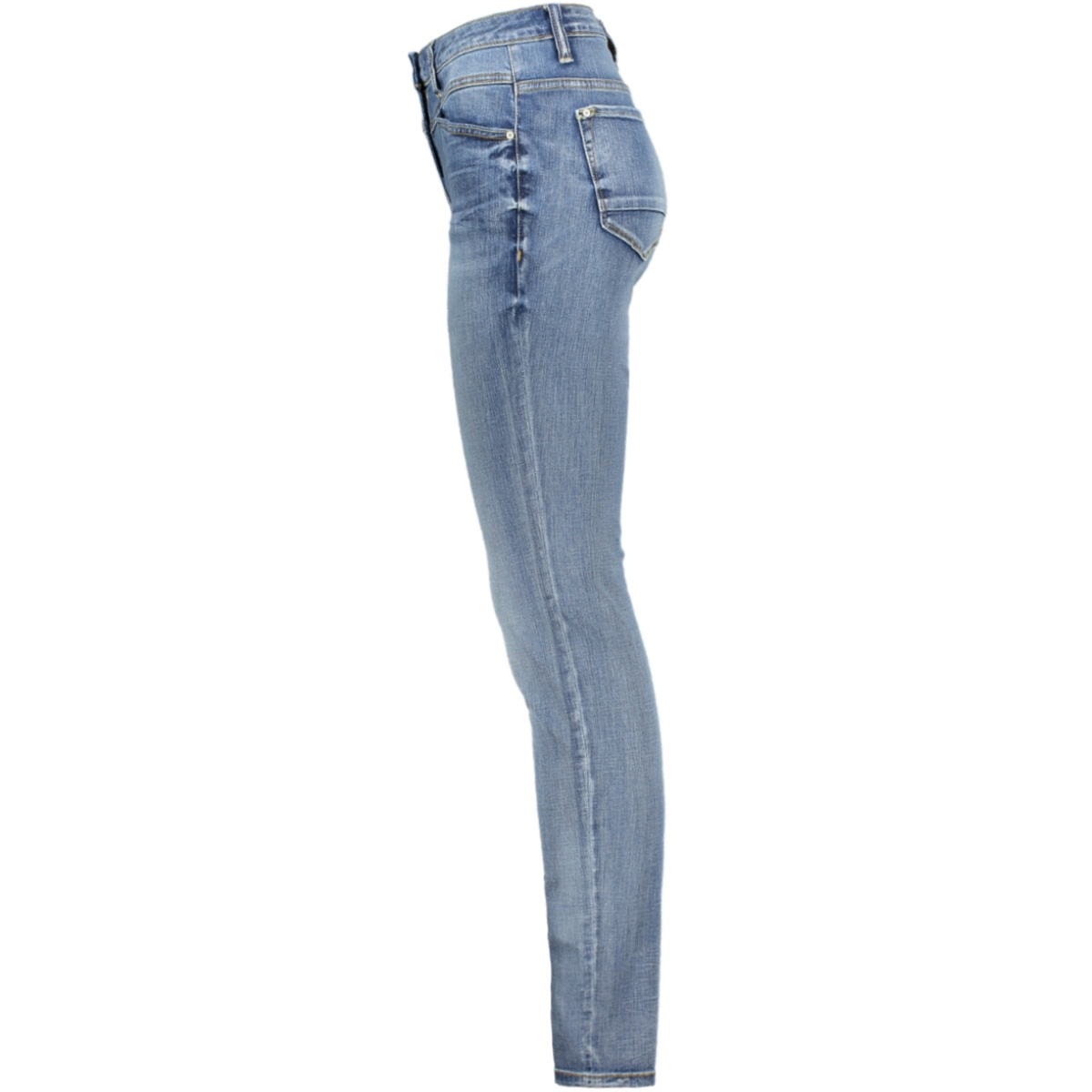 high waist skinny jeans 24001616 sandwich jeans 40101 medium blue denim