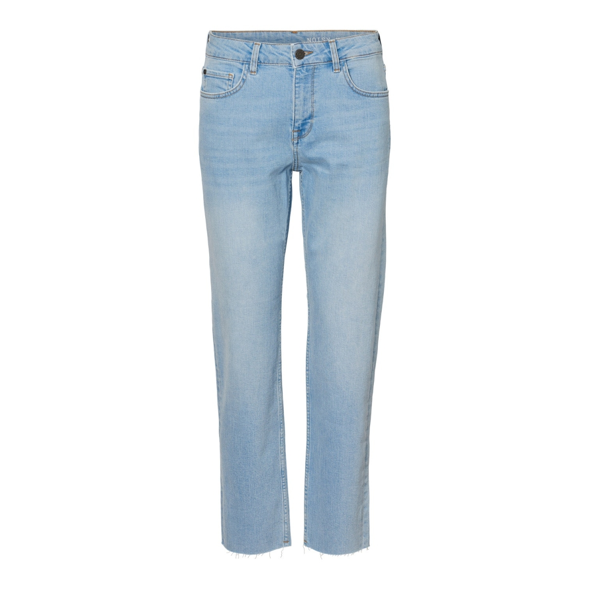 nmjenna nw strght ank jeans ki013lb 27010856 noisy may jeans light blue denim