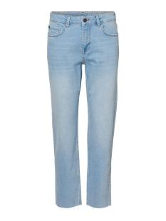 Noisy may Jeans NMJENNA NW STRGHT ANK JEANS KI013LB 27010856 Light Blue Denim