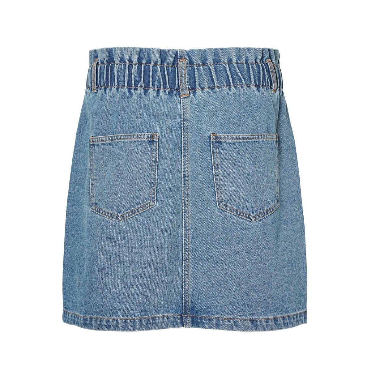 nmjudo hw papback skirt jt090mb bg 27010911 noisy may rok medium blue denim