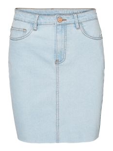 Noisy may Rok NMBE CALLIE HW SHORT SKIRT JT088LB 27010908 Light Blue Denim