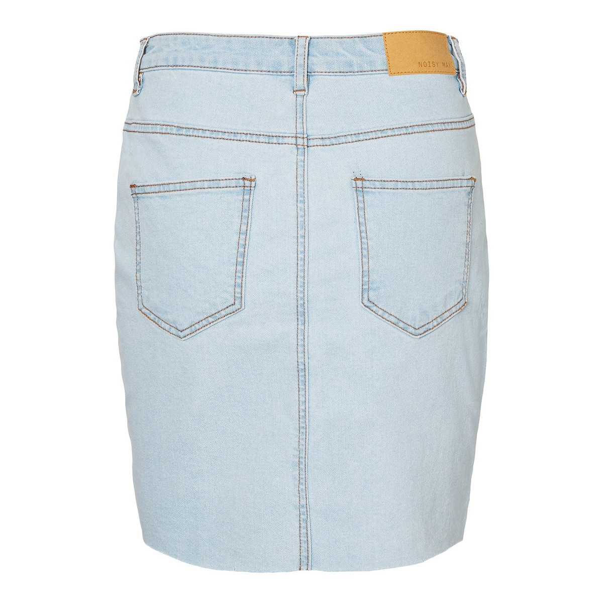 nmbe callie hw short skirt jt088lb 27010908 noisy may rok light blue denim