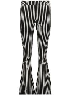 Vero Moda Broek VMKAMMA NW FLARED JERSEY PRINT PANT 10221559 Black/white