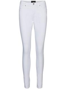 Vero Moda Jeans VMTANYA MR S PIPING JEANS VI402 COL 10225467 Bright White