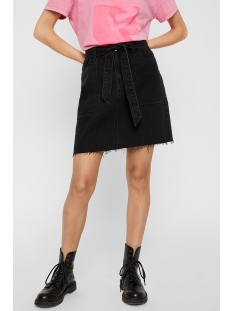 nmkyra nw denim skirt jt097bl bg 27011445 noisy may rok black denim