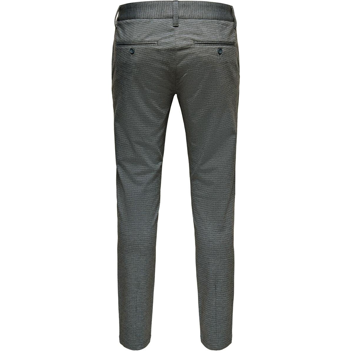 onsmark tap pant aop gw 6118 22016118 only & sons broek dark blue