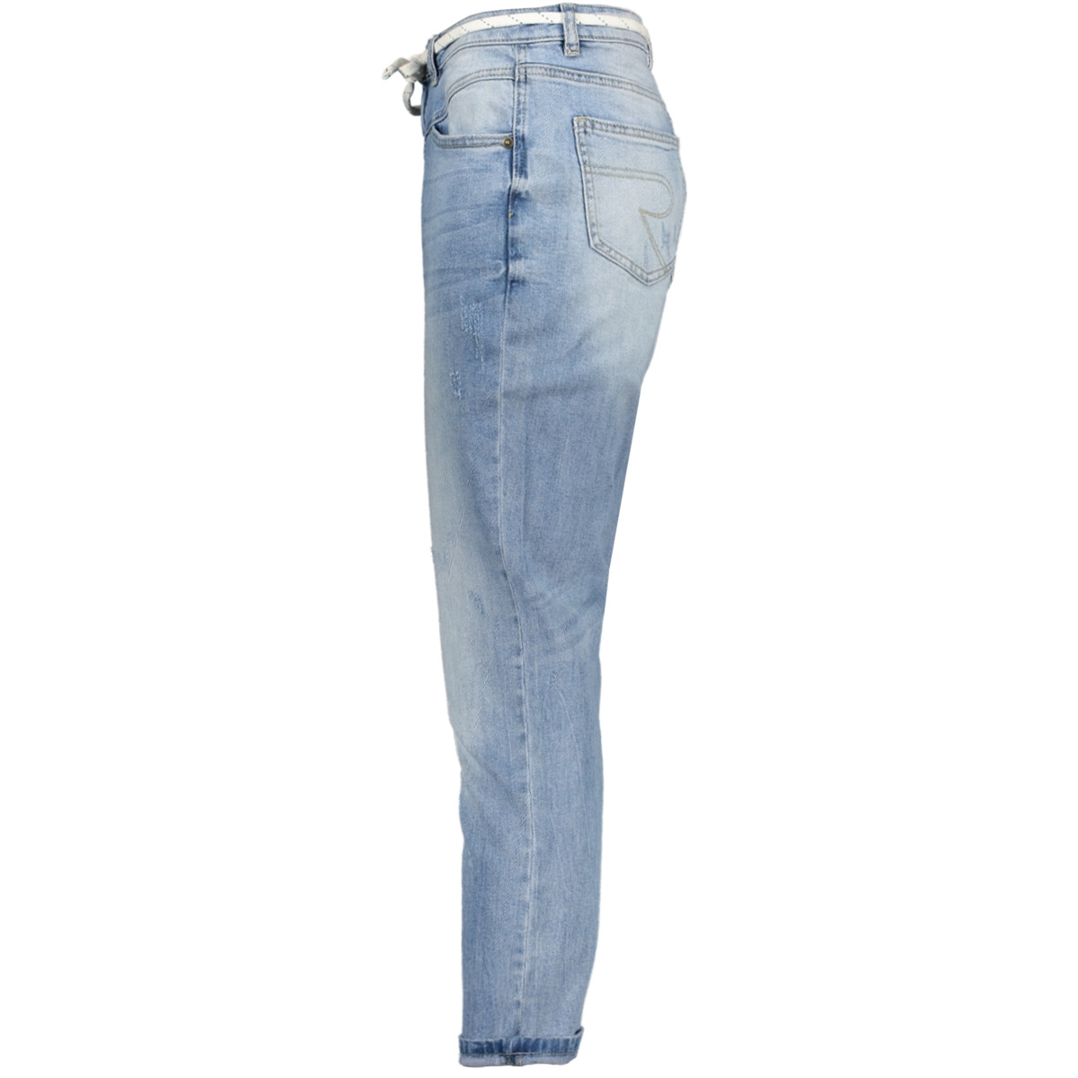 jeans with cord 01011 geisha jeans blue denim