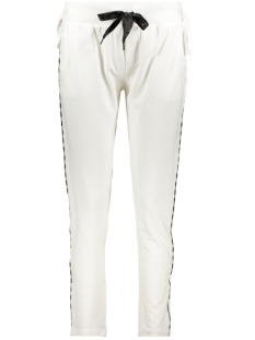 10 Days Broek JOGGER PIPING 20 050 0201 WHITE