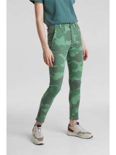 EDC Jeans BROEK MET ARMYPRINT 030CC1B319 C350