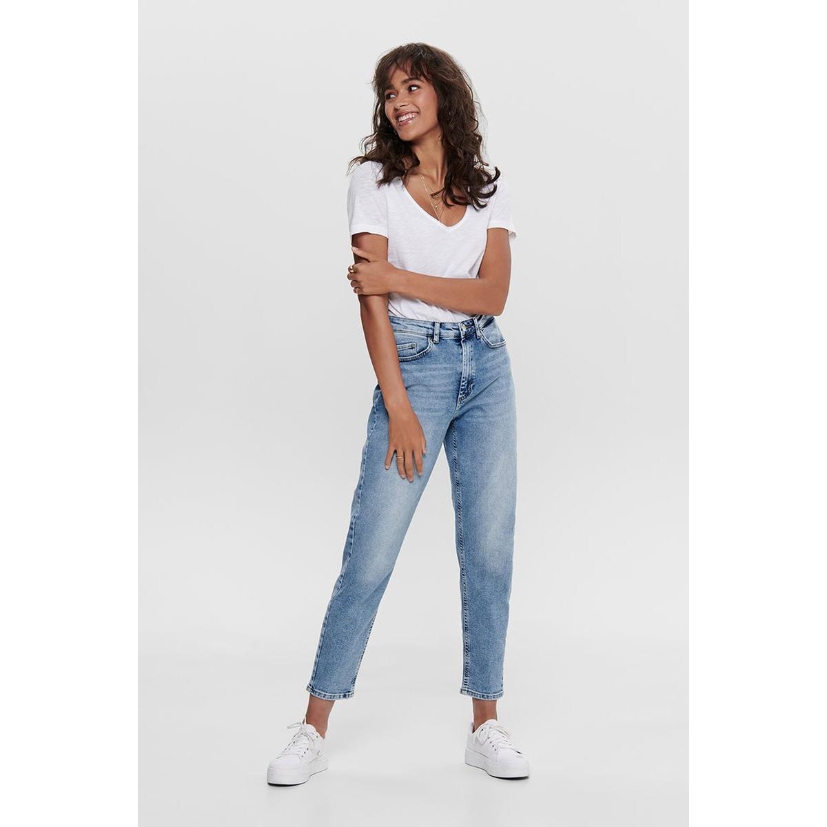 onlveneda life mom jeans rea7452 15193864 only jeans light blue denim
