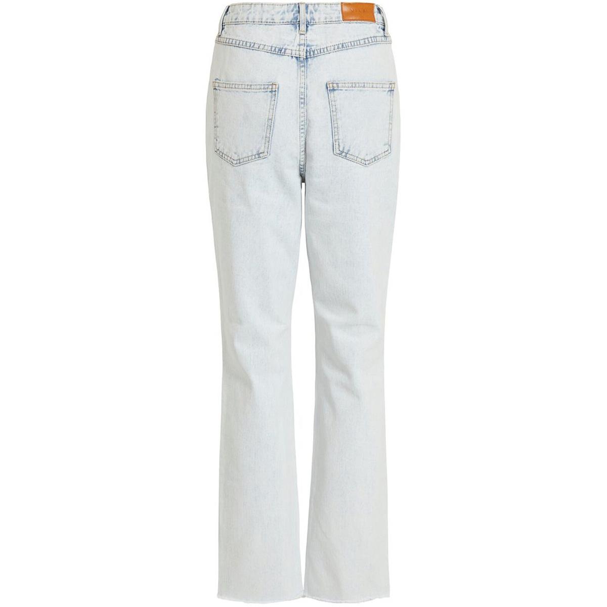 viannabel hwre 7/8 jeans 14055779 vila jeans light blue denim