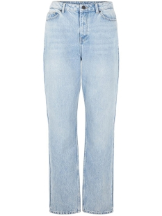 Noisy may Jeans NMLISA HW VOLUME STRGHT JEANS KI037 27011483 Light Blue Denim