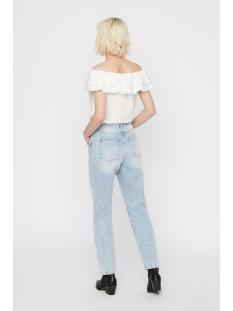nmlisa hw volume strght jeans ki037 27011483 noisy may jeans light blue denim