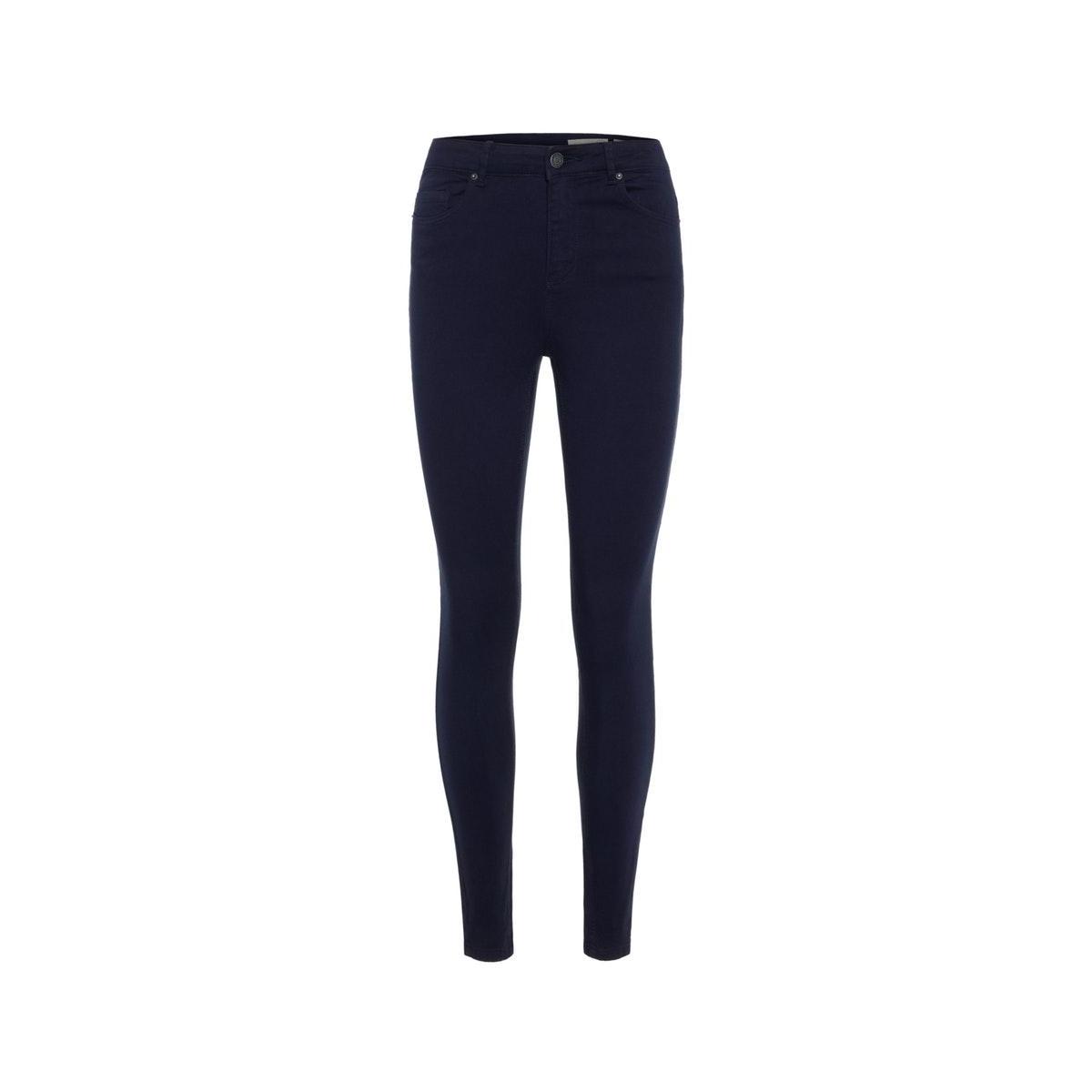 vmhot sophia hr skinny pants color 10209868 vero moda broek night sky