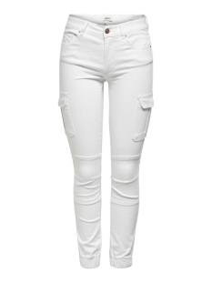 Only Jeans ONLMISSOURI REG ANK LIFE CARGO PNT 15170889 White