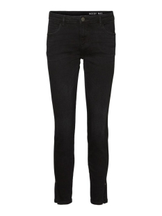 nmkimmy nw skinny slit jeans az093b 27011479 noisy may jeans black denim