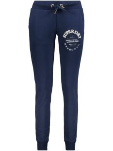 serif jogger ub w7010054a superdry broek richest navy