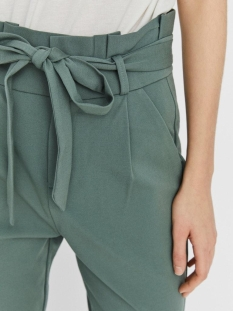 vmeva hr loose paperbag pant noos 10205932 vero moda broek laurel wreath