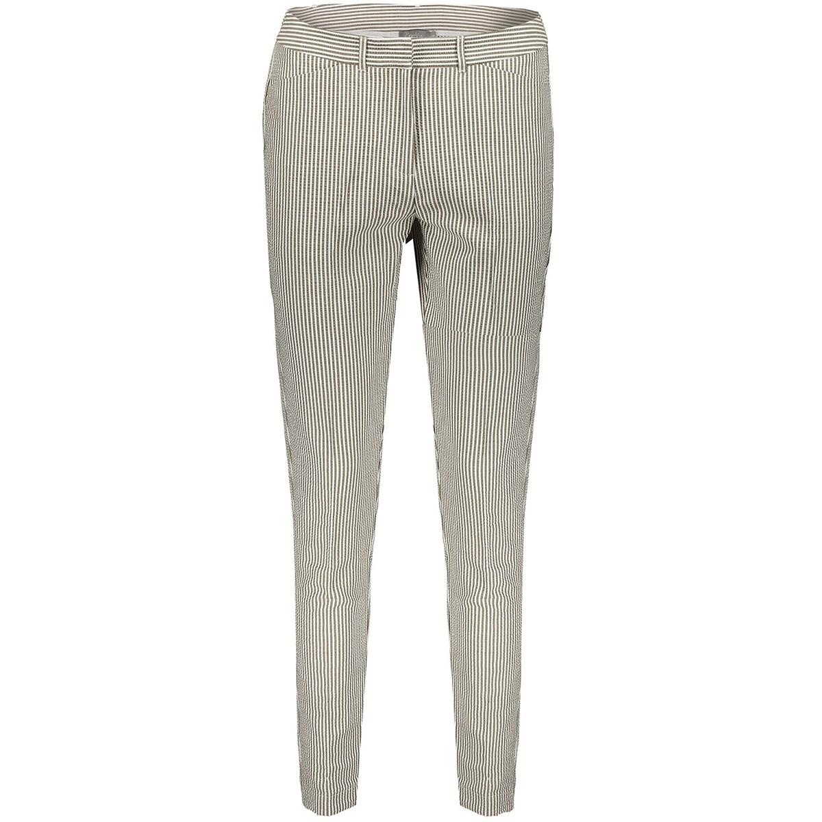 pants seersucker 01096 geisha broek sand/white