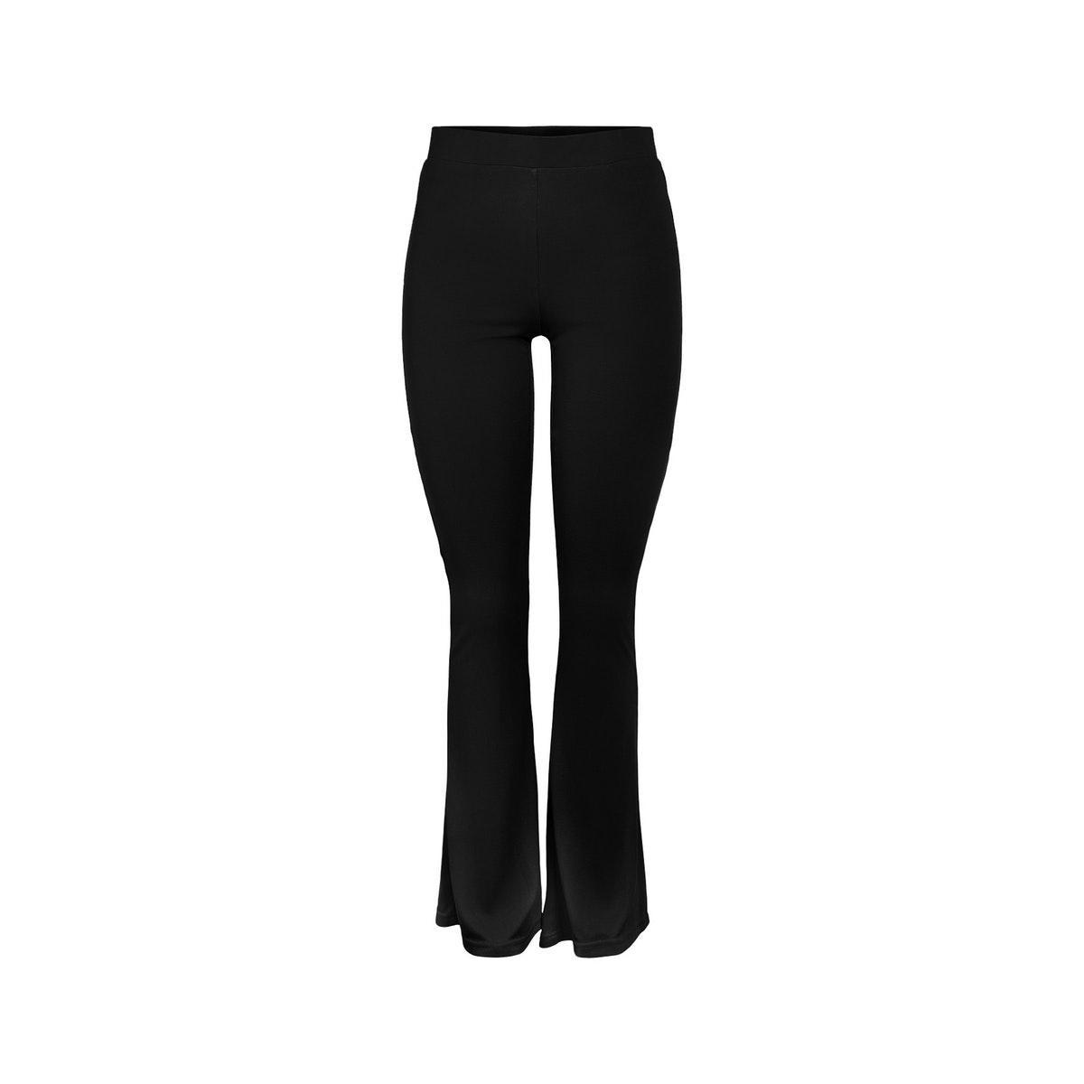 pcnukita mw flared pants 17102009 pieces broek black