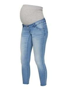 Mama-Licious Positie broek MLARENA 7/8 SLIM JEANS A. 20010812 Light Blue Denim