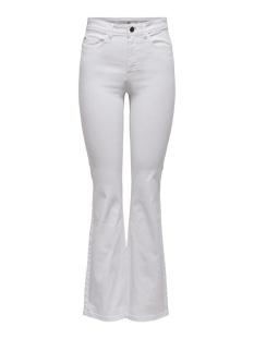 Jacqueline de Yong Jeans JDYTONIA LIFE HIGH FLARE PANT PNT 15210221 White