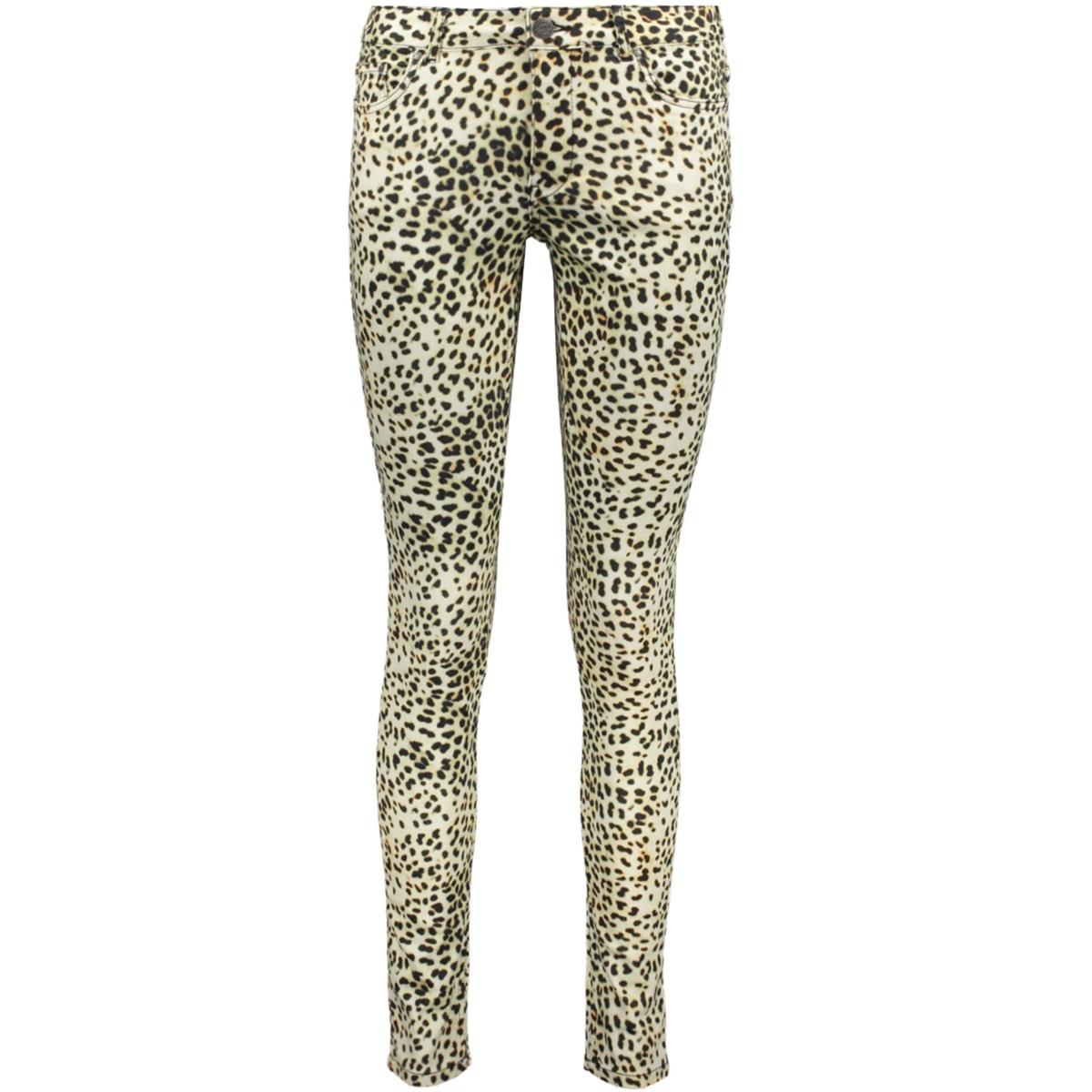 leopard jeans 91068 geisha jeans off-white/black combi