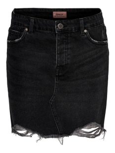 ONLSKY  LIFE REG SKIRT RAW DEST BB 15196689 Black