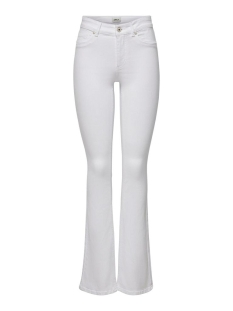 Only Jeans ONLBLUSH MID SWEET  FLARED REA0730 15205568 White