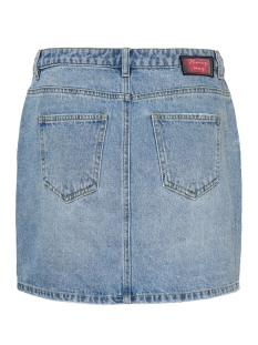 nmayla nw short zip skirt jt094lb b 27011111 noisy may rok light blue denim