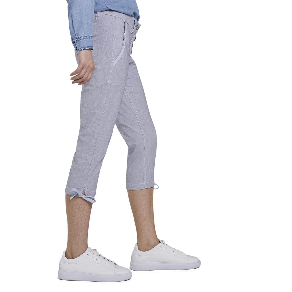 knoopvormige tapered relaxbroek 1016867xx70 tom tailor broek 12320