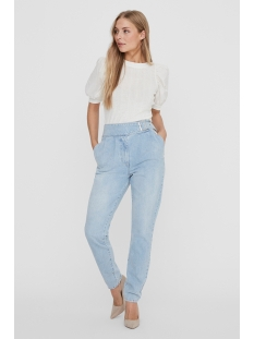 Vero Moda Jeans VMAYA HR BELT JEANS BA3143 10232260 Light Blue Denim