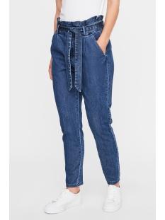 Vero Moda Jeans VMEVA HR PAPERBAG DENIM PANT 10225544 MEDIUM BLUE DENIM