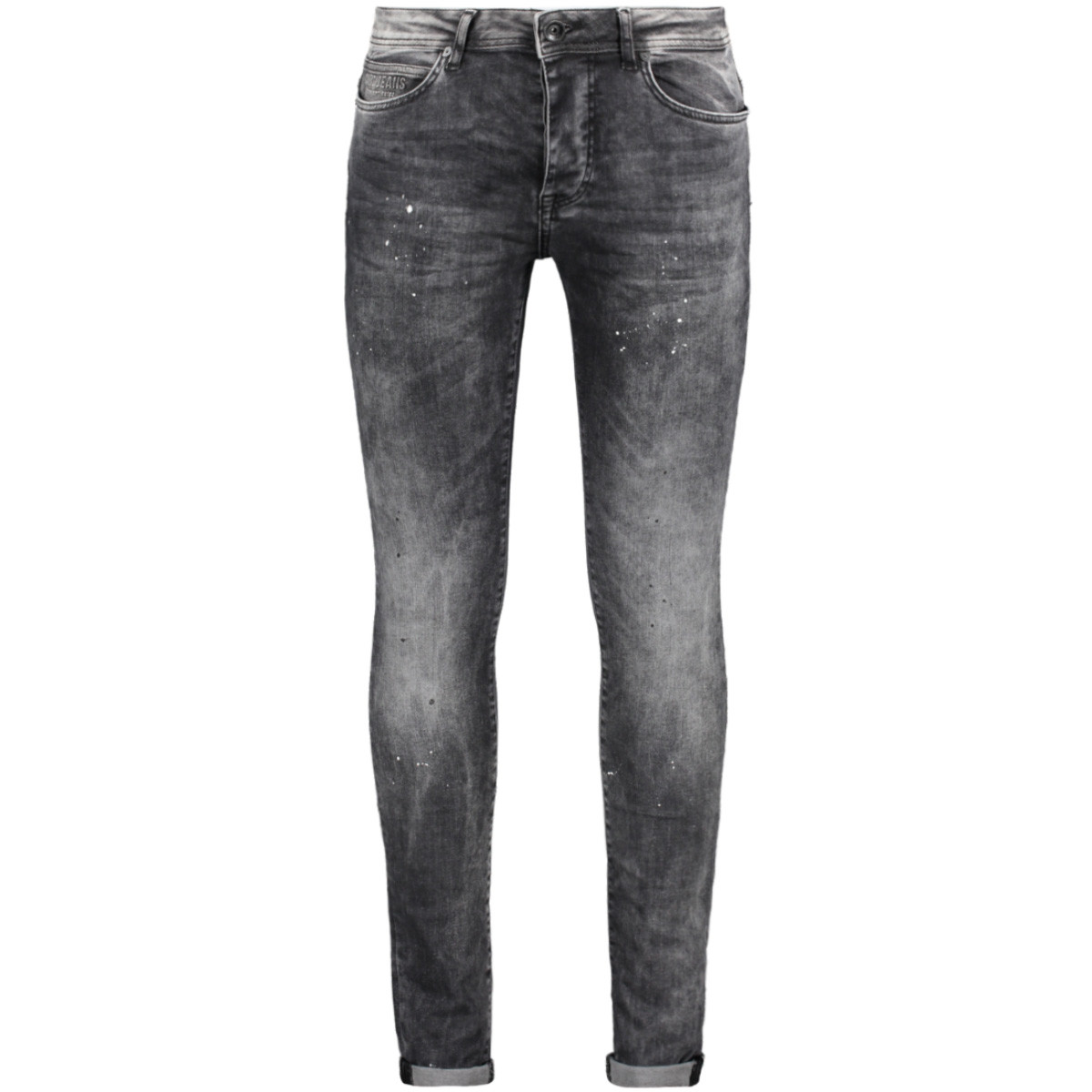 dust super skinny 75528 cars jeans 01 black spot