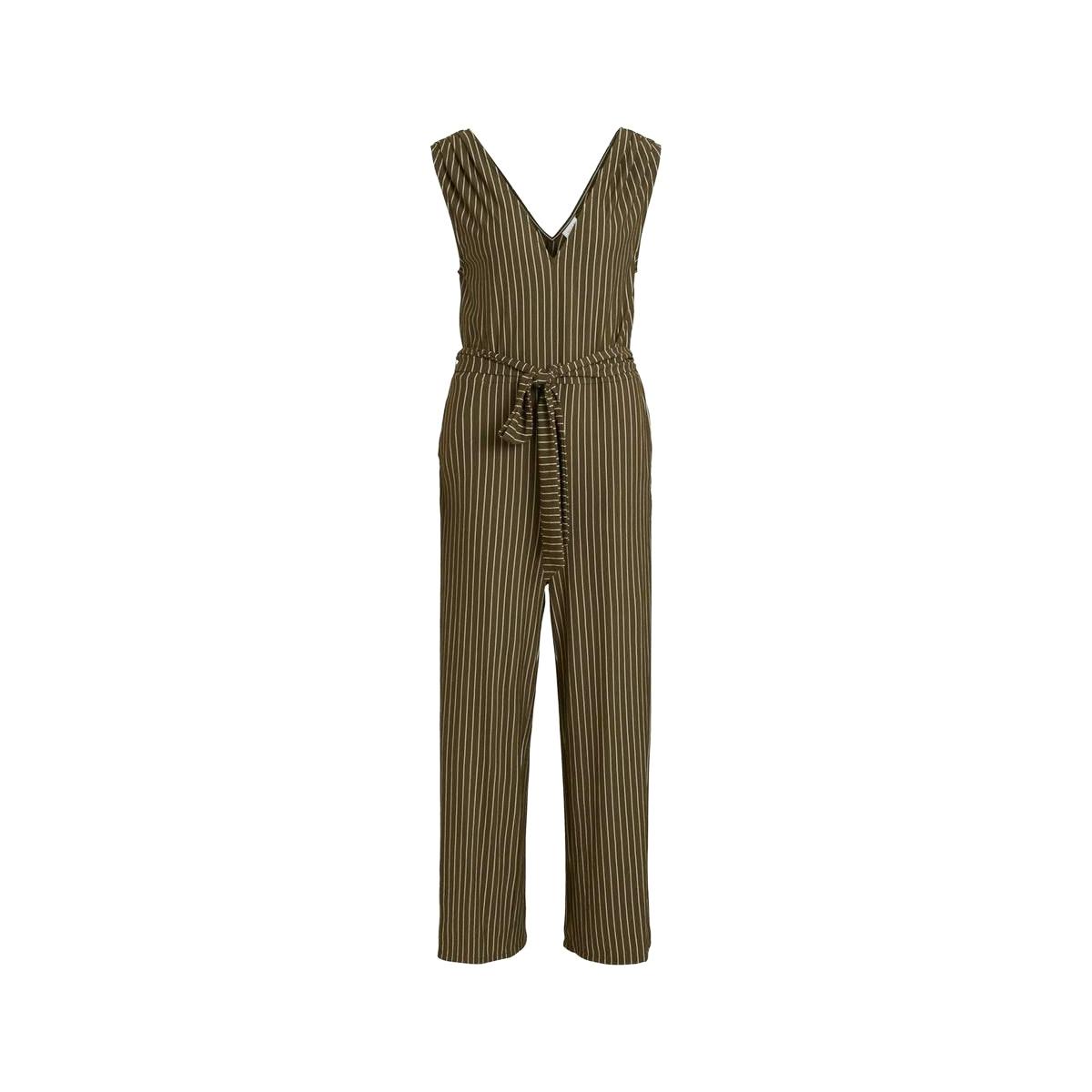 viluina s/l 7/8 jumpsuit 14057576 vila jumpsuit dark olive/cloud danc