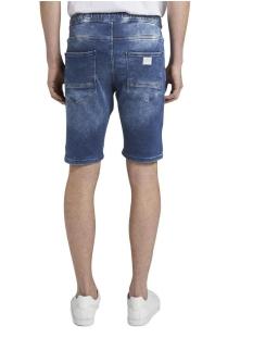 denim jogger short 1017201xx12 tom tailor korte broek 10120