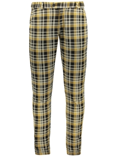 Ferlucci Broek PAULO PANT YELLOW CHECK