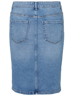 vmseven mr pencil abk skirt mix ga 10232623 vero moda rok light blue denim