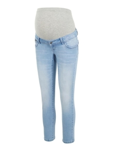 Mama-Licious Positie broek MLNOME 7/8 SLIM JEANS A. 20011073 Light Blue Denim