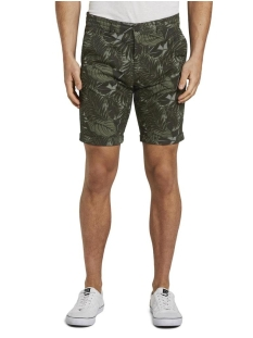Tom Tailor Korte broek CHINO SHORTS MET ALLOVER PRINT 1016961XX12 22035