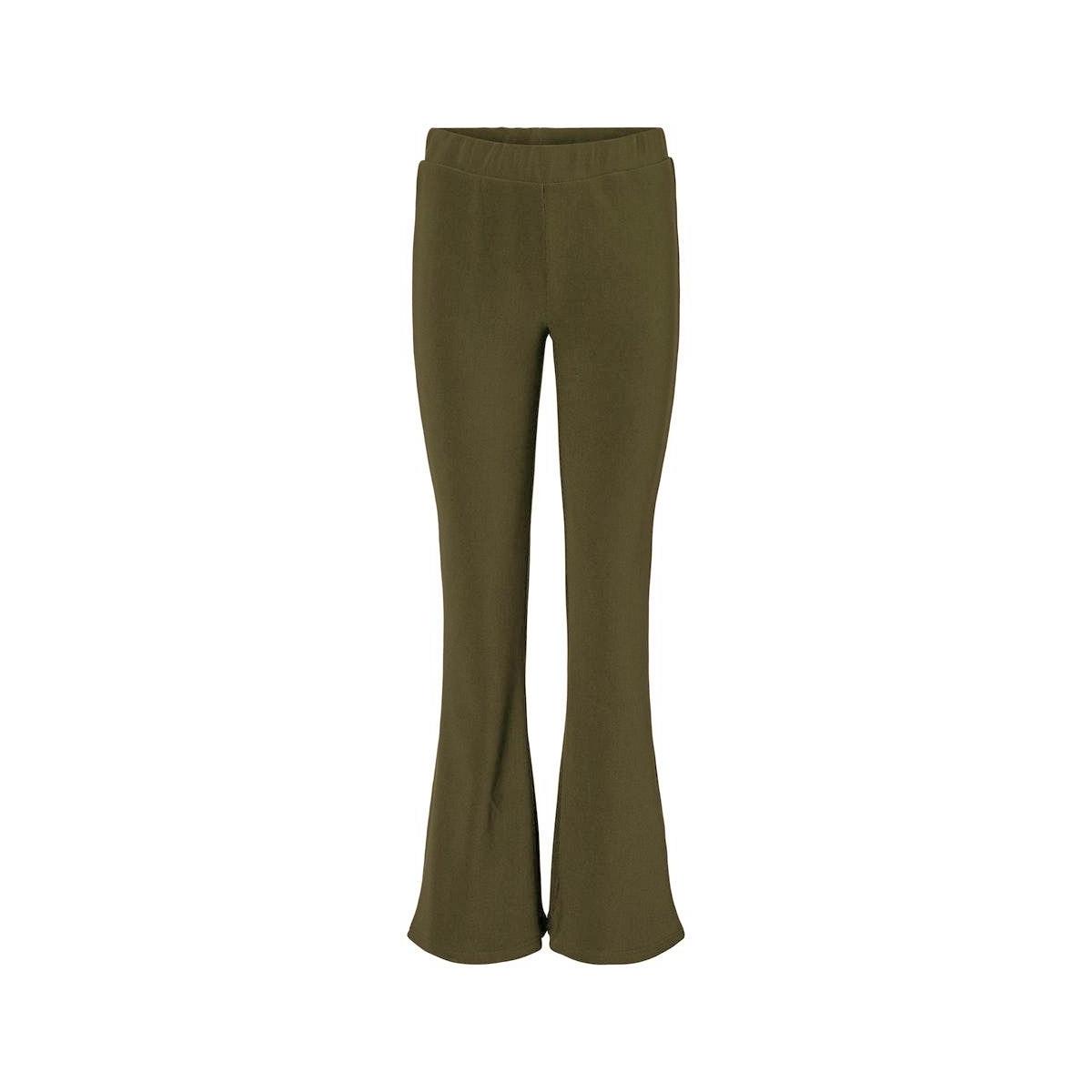 nmbillie nw rib flared pants 27012513 noisy may broek kalamata