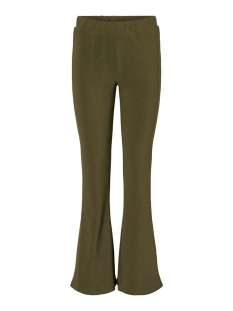 Noisy may Broek NMBILLIE NW RIB FLARED PANTS 27012513 Kalamata
