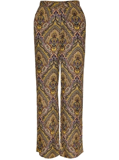 Only Broek ONLVIDE WIDE PANT WVN 15205418 Golden Spice/SPICY BOHO